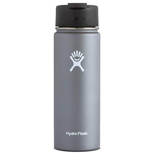 Hydro Flask Travel Coffee Flask, 20 oz, Graphite