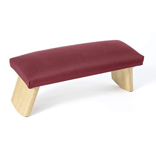 Lotuscrafts meditationsbänk vikbar Dharma med vadderad sits - tillverkad i Europa - yogapall av...