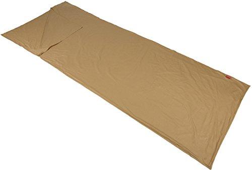 Polydaun slaapzak inlett Colibri 80 x 220 cm zand