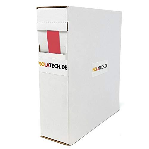 Mini Box 2:1 Rot 12,7mm 6m Schrumpfschlauch Rolle in praktischer Spenderbox von ISOLATECH
