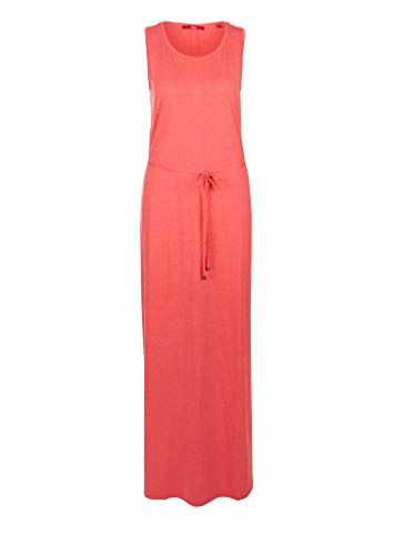s.Oliver RED Label Damen Maxikleid aus Jersey Coral 36