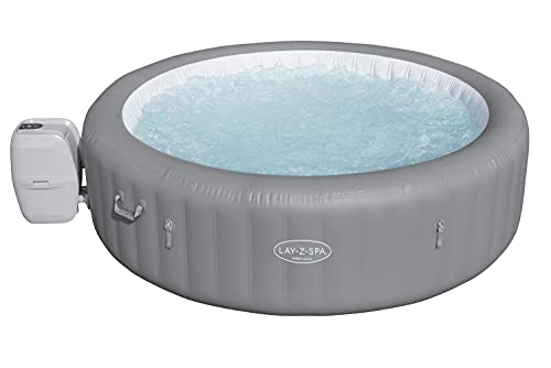 Lay-Z-Spa BW60135GB Grenada 190 AirJet Massage System, Inflatable Hot Tub...