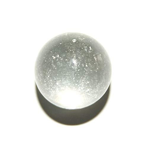 Les Colis Noirs LCN - Lot de 10 Bille Cristal Supertransparent en Verre 42mm - Décoration Table Jeu - 4271