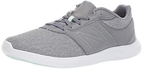 New Balance Wl415V1, Zapatillas Deportivas para Interior Mujer, Gris (Grey), 36.5 EU