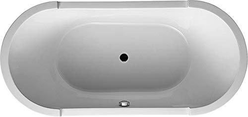 Duravit Starck–Badewanne 190x 90oval C00Starck frei weiß