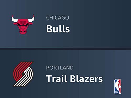 Chicago Bulls at Portland Trail Blazers