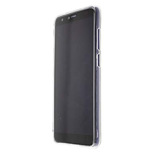 caseroxx TPU-Hülle für Gigaset GS100, Tasche (TPU-Hülle mit & ohne Bildschirmschutz) (TPU- Hülle mit Bildschirmschutz, transparent)