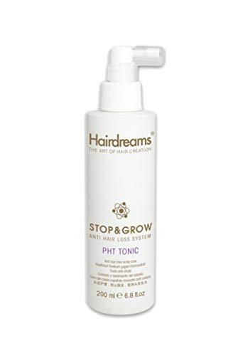 Hairdreams Stop & Grow Tonic Haarwasser, beugt, wissenschaftlich erwiesen, erblich bedingtem Haarausfall bei Frauen und Männern vor, bis 14.000 neue Haare in drei Monaten