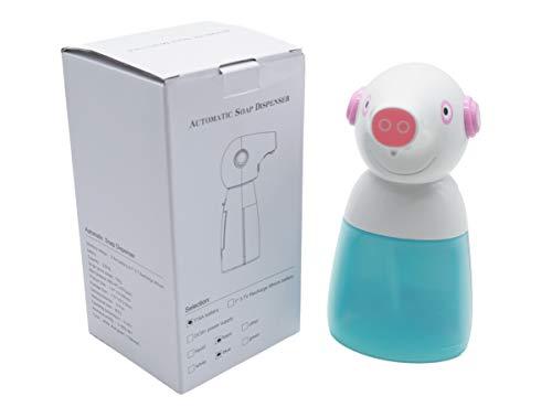 Irinuski Dispensador Jabon Automatico 330ml en Espuma para Baño, Ducha, Cocina. Dosificador Jabón líquido, Gel y Champú. Automatic Soap Dispenser and Touchless (