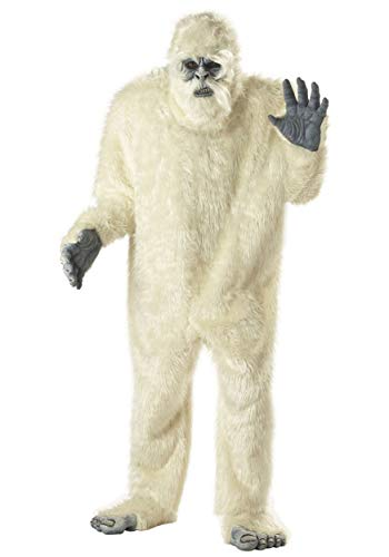 Adult Abominable Snowman Costume Standard White