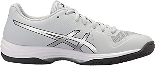 ASICS Women's Gel-Tactic 2 Volleyball Shoe, Glacier Grey/Silver/Dark Grey, 8 Medium US
