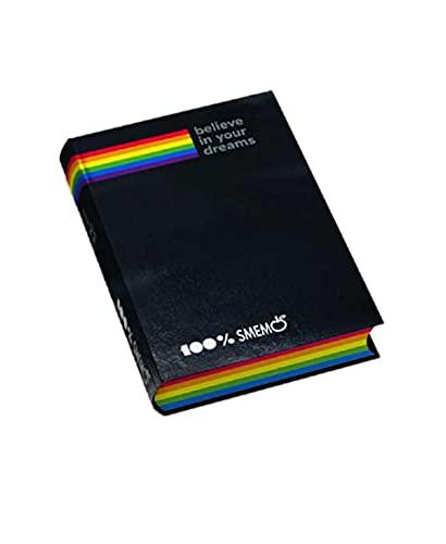 Diario Agenda Smemoranda Special Nero 2021/2022 16 Mesi Datato Pocket 16x11 cm + Penna Colorata Omaggio