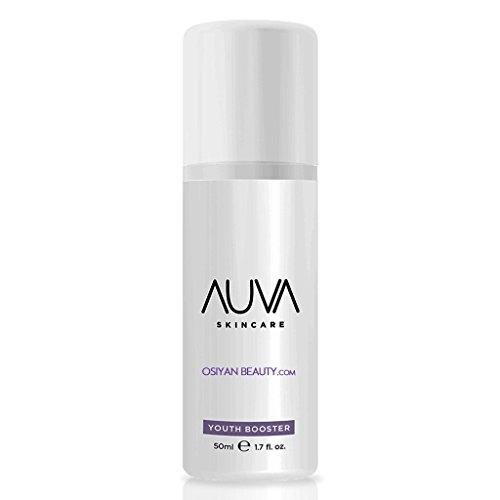 Crema intensificadora de juventud Auva. Crema con extracto de levadura, fitoceramidas, ácido hialurónico y bioflavonoides