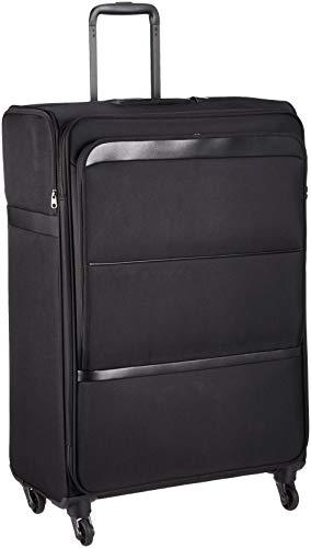 [エース トーキョー] スーツケース ヴォルモクスライト 軽量 フロントポケット サイドポケット付 100L 70 cm 3.7kg ブラック