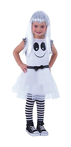 Rubies - Disfraz infantil, fantasmita con ojos que se mueven - Talla S (3-4 años)