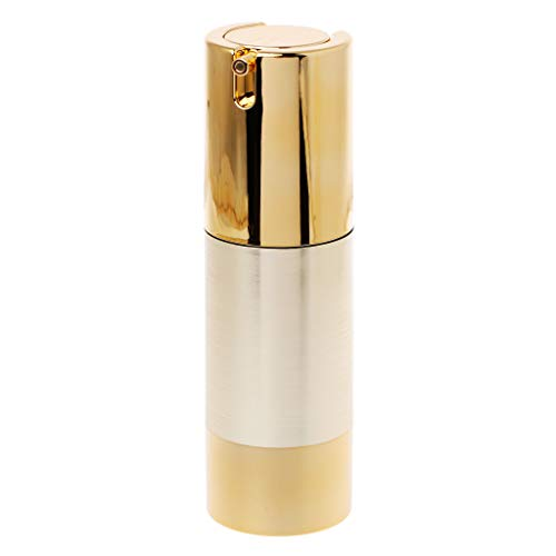 niumanery 15/30/50ml Empty Airless Bottle Cosmetic Plastic Pump Container Travel Makeup 30ml