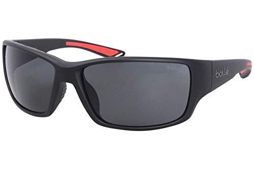 bollé Erwachsene Kayman Sonnenbrille, Black Matte, Medium