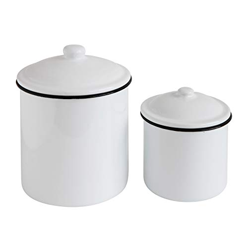 Top kitchen canisters white for 2020
