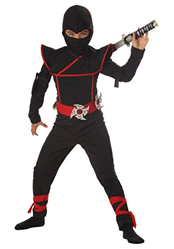 California Costumes Boys Stealth Ninja Child Costume