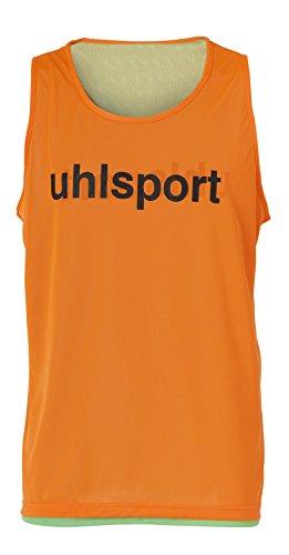 uhlsport Training Bib Peto Reversible, Hombre, Naranja, XS/S