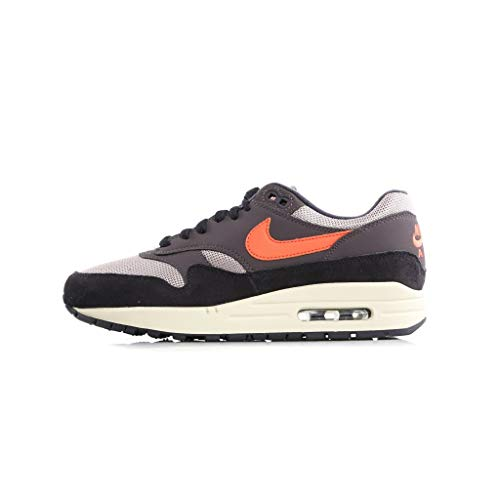 Nike Herren Air Max 1 Gymnastikschuhe, Grau (Oil Grey/Wild Mango/Thunder Gr 004), 42 EU