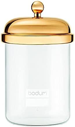 Bodum 11713-17 Classic Storage Jar, 0.5L Capacity, Gold