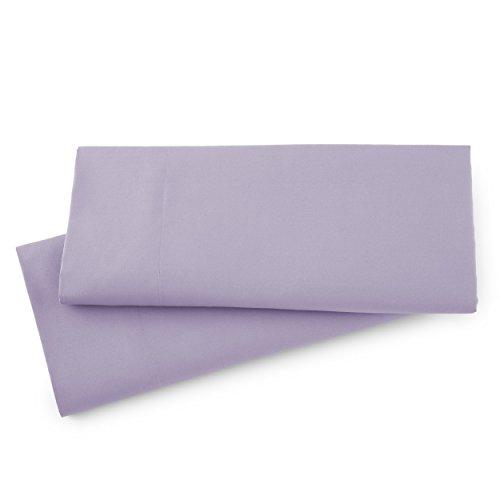Southshore Fine Linens - Vilano Springs - Pair of Pillow Cases, Lavender, King