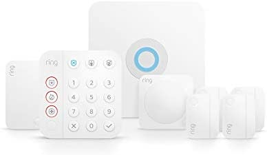Ring Alarm 8 piece kit 2nd Gen home security system with optional 24 7 professional monitoring product image