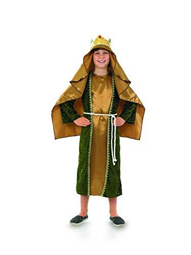 Fun Shack Grünes Heilige DREI Könige Kostüm für Kinder, Caspar Verkleidung, Krippenspiel - XL
