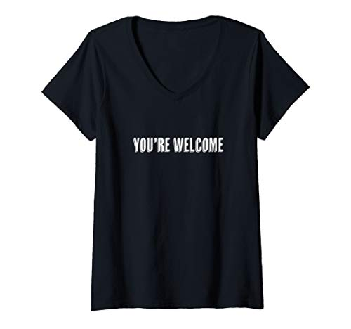 Womens Top That Says the Words - YOU