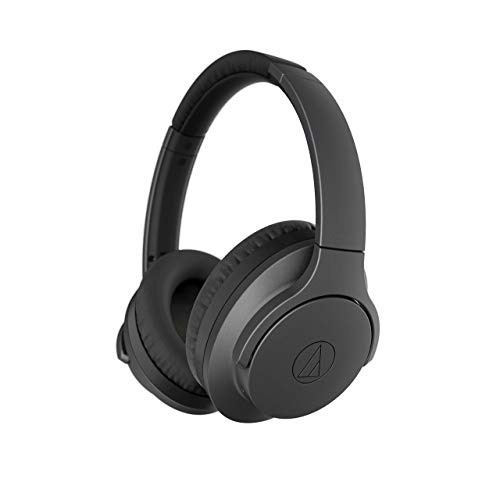 Audio-Technica ATH-ANC700BT QuietPoint Active Noise-Canceling Headphones | Manufacturer Renewed - Black