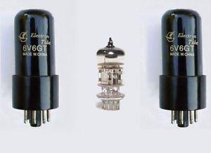 Jellyfish Audio - Kit de Válvula 6V6 & 12AX7 para Amplificadores de...