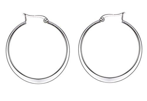 Tuscany Silver 8.53.1349 - Pendientes de plata de ley (925/1000), sin gema