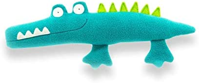 """Maua Gang """"Johnny Alligator"""" - Handmade 40cm Crocodile Cuddly Stuffed Toy - Stuffed Animal - Birthday Gift for Newborn..."""
