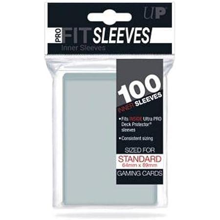 Ultra Pro-Fit Sleeves 82712 Couvre-lettres, Couleur transparente, divers