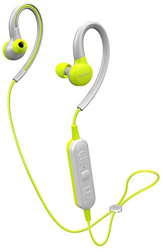 Pioneer SE-E6BT(Y) Cuffie in-ear senza fili (6 ore di riproduzione, wireless, Bluetooth, IPX4, Pioneer Notification App), giallo