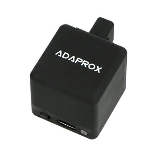 JINQII Adaprox Fingerbot pulsador de botón inteligente, control de voz, aplicación inalámbrica, brazos mecánicos inteligentes funcionan con Siri, Alexa Google Assistant