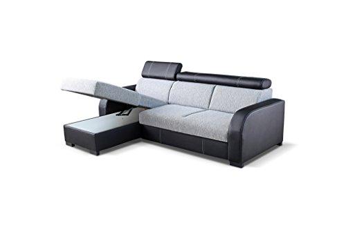 Ecksofa günstig: Couch  Schlaffunktion Eckcouch Bild 2*