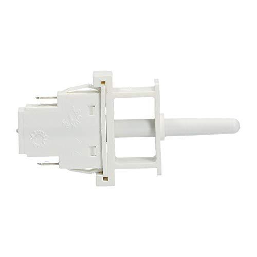 Tastenschalter 1fach Licht Kühlschrank Bauknecht Whirlpool 481227618497 481227618499