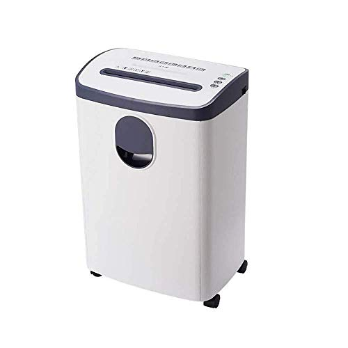 Shredder for Home/Office High-Power Paper Shredder with Large-Capacity Transparent Window Paper Tube Suitable for Large Office and Home Use Paper/disc/Card