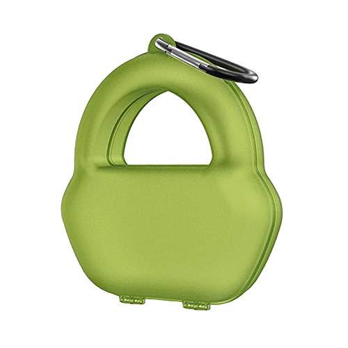 P Prettyia Hard Travle Anti-Scratch Headphone Box Funda Protectora para MAX - Verde
