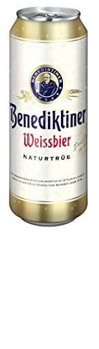 24 x Benediktiner Weisbier REDUZIERT MHD 02/2020 0,5L Dose 5,4% vol.alc. EINWEG