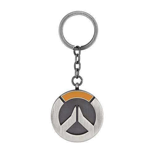 Overwatch Logo Schlüsselanhänger mit Schlüsselring 9cm Metall