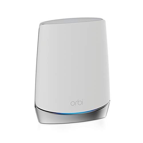 NETGEAR Orbi Whole Home Tri-band Mesh WiFi 6 Add-on Satellite (RBS750) – Works with Your Orbi WiFi 6 System| Adds up to 2,500 sq. ft. Coverage | AX4200 (Up to 4.2Gbps)