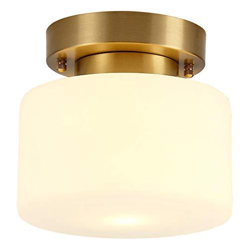 De lampen van de hal volledig van koper zijn de nieuwe klassieke Chinese plafondlampen.