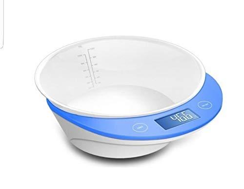 Thulos Balanza de Cocina Digital Th-Ds8024, Equipada con 4 Sensores de Alta Precisión