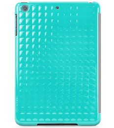X-Doria SmartJacket Apple iPad Mini/iPad Mini with Retina Display Folio Flip Cover Case (Aqua)