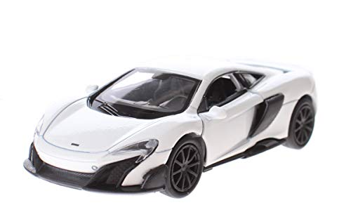 Toi-Toys Welly Mclaren - Cochecito deportivo (11,5 cm), color blanco