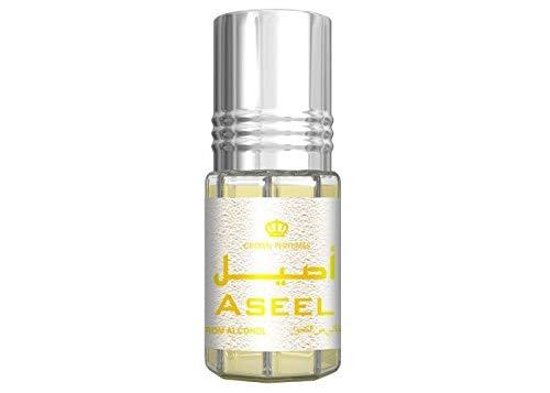 Aseel Al Rehab Parfum 3ml Oil (alkoholfrei, amber, orientalisch, arabisch, oud, misk, moschus, natural perfume, adlerholz, ätherisch, attar scent)