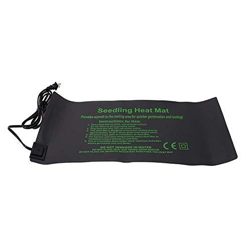 HFS R 10 x 2075 Inch Durable Waterproof Seedling Heat Mat Warm Hydroponic Heating Pad